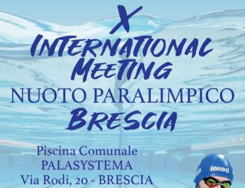X International Meeting Nuoto Paralimpico