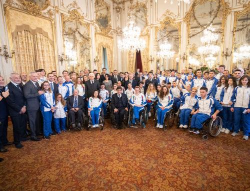 Il Presidente Mattarella riceve l'Italia Campione del Mondo